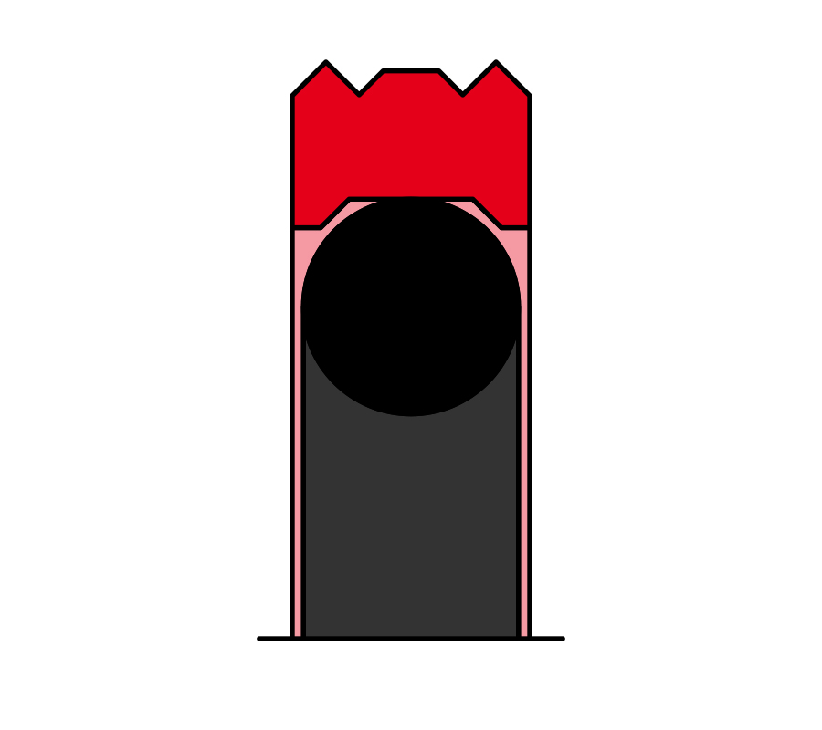 Lippold Kolbendichtung LK140