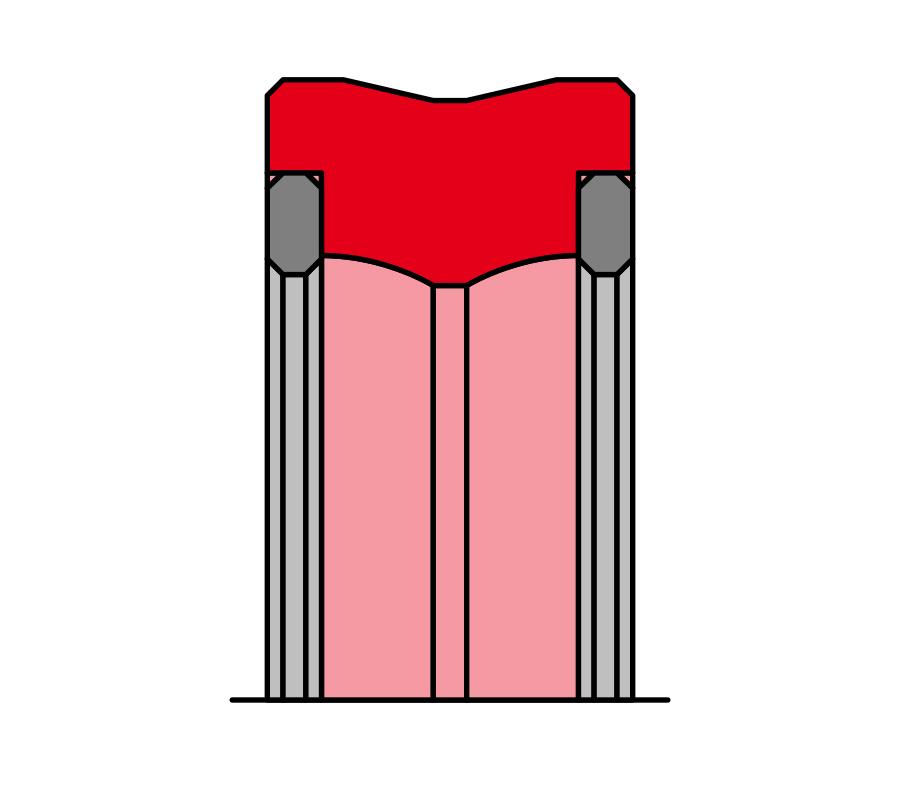 Lippold Rotordichtung LR113